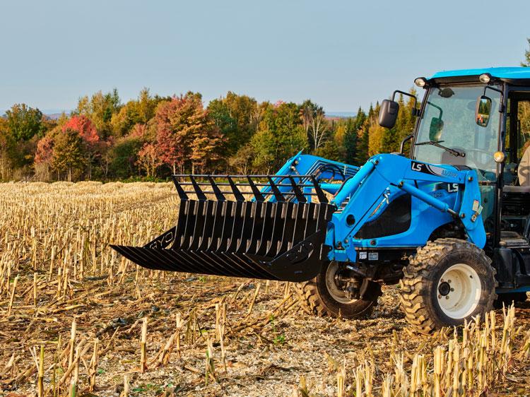 Fourche pour tracteurs compacts